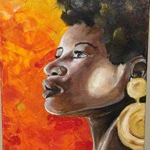 artist-romain-govin-afro-lady