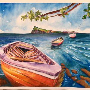 buy-painting-samanta-bissoondyal-ramguttee-perspective-sur-coin-de-mire
