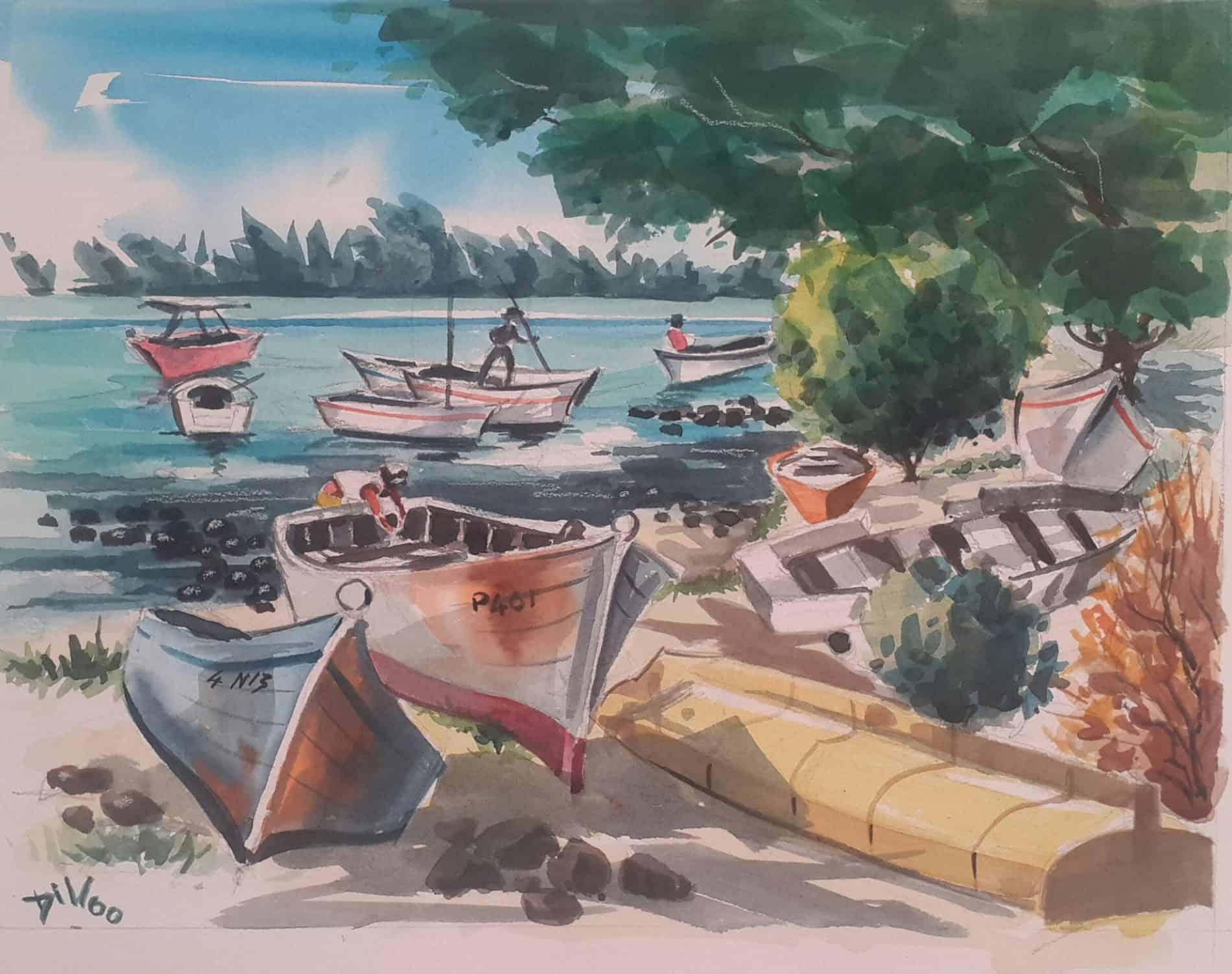 Mauritius Arts & Artists - faizal-dilloo-grand-baie