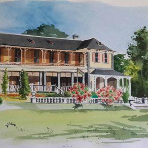 Mauritius Arts & Artists - faizal-dilloo-state-house-of-mauritius