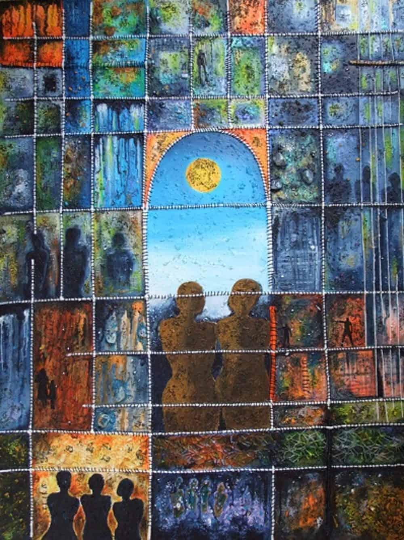 Mauritius Arts & Artists - jean-yves-lonfle-a-travers-la-fenetre
