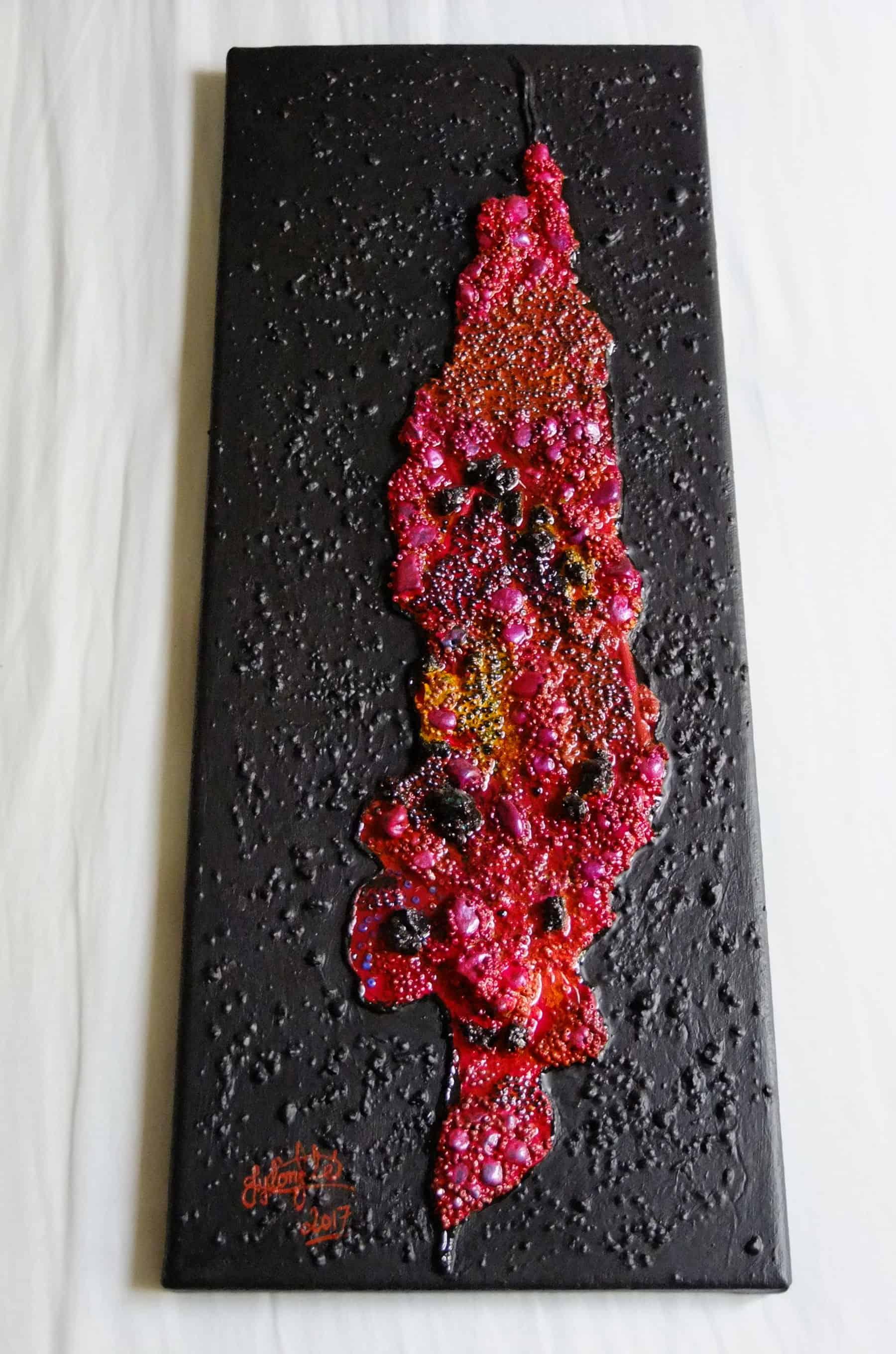 Mauritius Arts & Artists - jean-yves-lonfle-lava