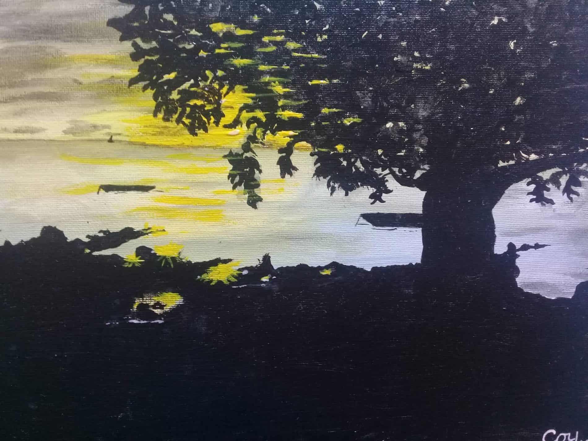 mauritian-artist-corinne-felicite-baie-du-cap-shadow