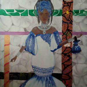 mauritian-artist-corinne-felicite-blue-priestess