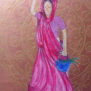 mauritian-artist-corinne-felicite-indian-womandala