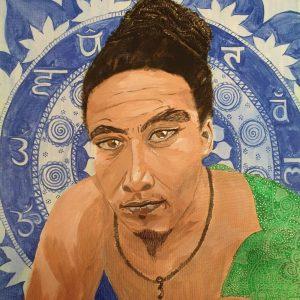 mauritian-artist-corinne-felicite-meditation-guru