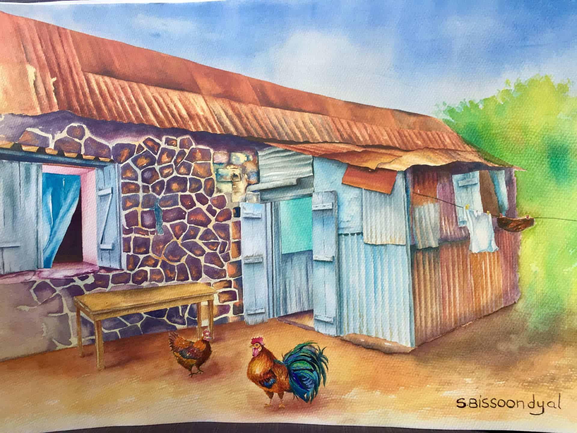 mauritian-artist-samanta-bissoondyal-ramguttee-maison-de-campagne