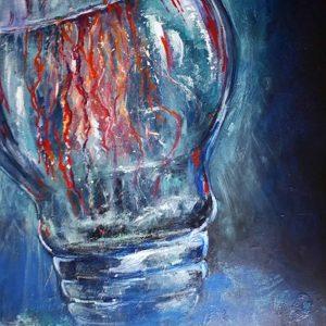 mauritius-arts-ameera-koheeallee-lightbuld-jellyfish