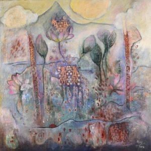 nalini-treebhoobun-dancing-apsaras-buy-painting