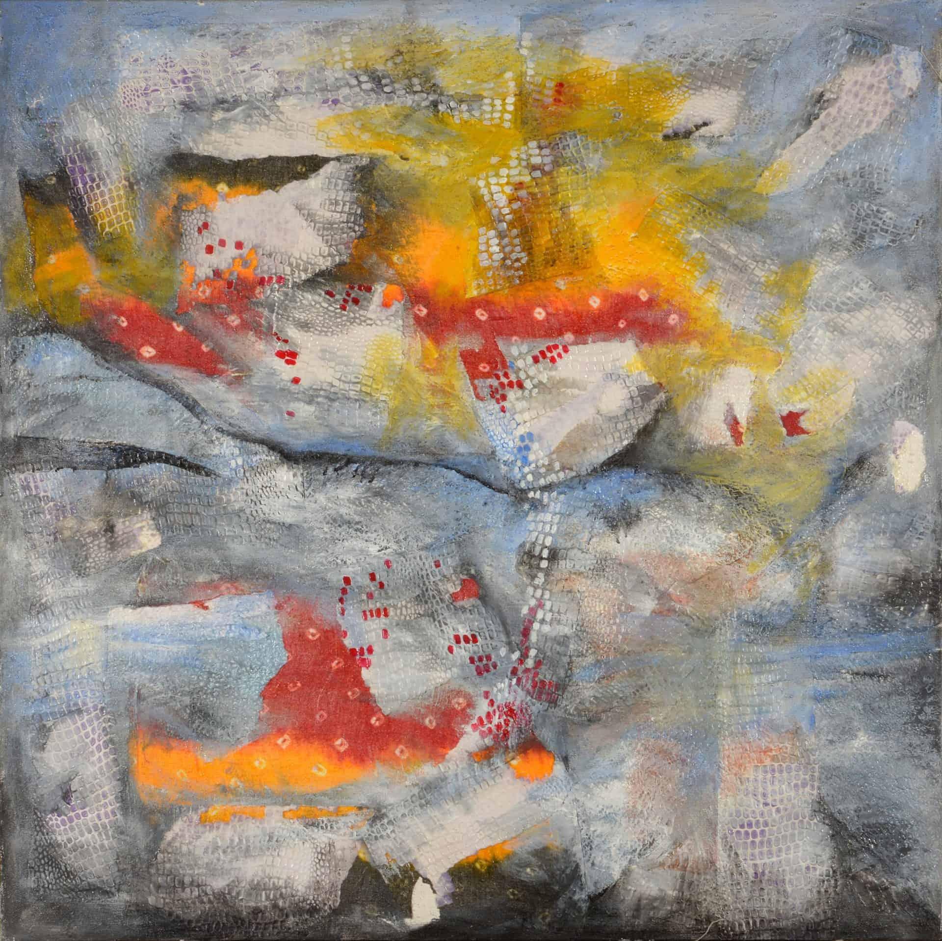 nalini-treebhoobun-horizon-mixed-media-painting