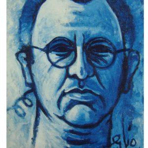 Mauritius Arts & Artists - sylvio-de-lapeyre-autoportrait-juin-2000