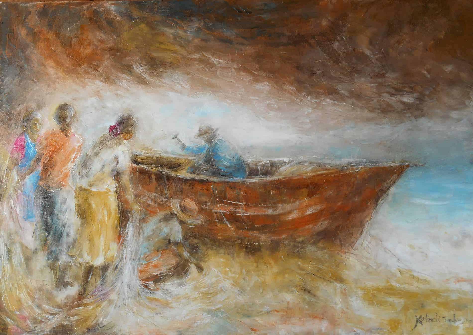 Mauritius Arts & Artists - mauiritius-arts-kalindi-jundoosing-beforethecyclone