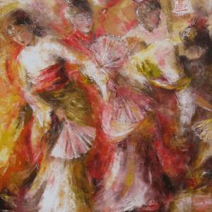 Mauritius Arts & Artists - mauiritius-arts-kalindi-jundoosing-geisha
