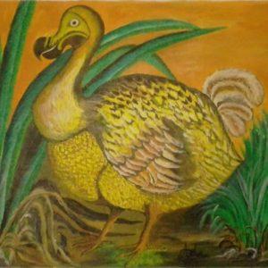 Mauritius Arts & Artists - mauritius-arts-asha-nawoor-the-famous-dodo
