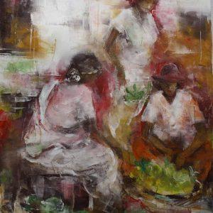 Mauritius Arts & Artists - mauritius-arts-kalindi-jundoosing-market-place