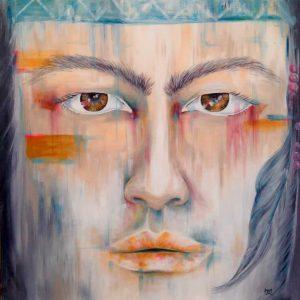 Mauritius Arts & Artists - mauritius-arts-pamela-saramandif-awakening-the-warrior