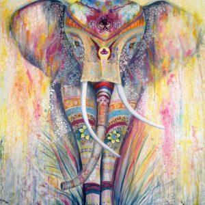 Mauritius Arts & Artists - mauritius-arts-pamela-saramandif-hippie-gypsy