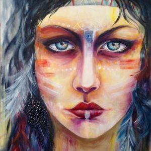 Mauritius Arts & Artists - mauritius-arts-pamela-saramandif-i-am-unveiling-the-shaman-in-me