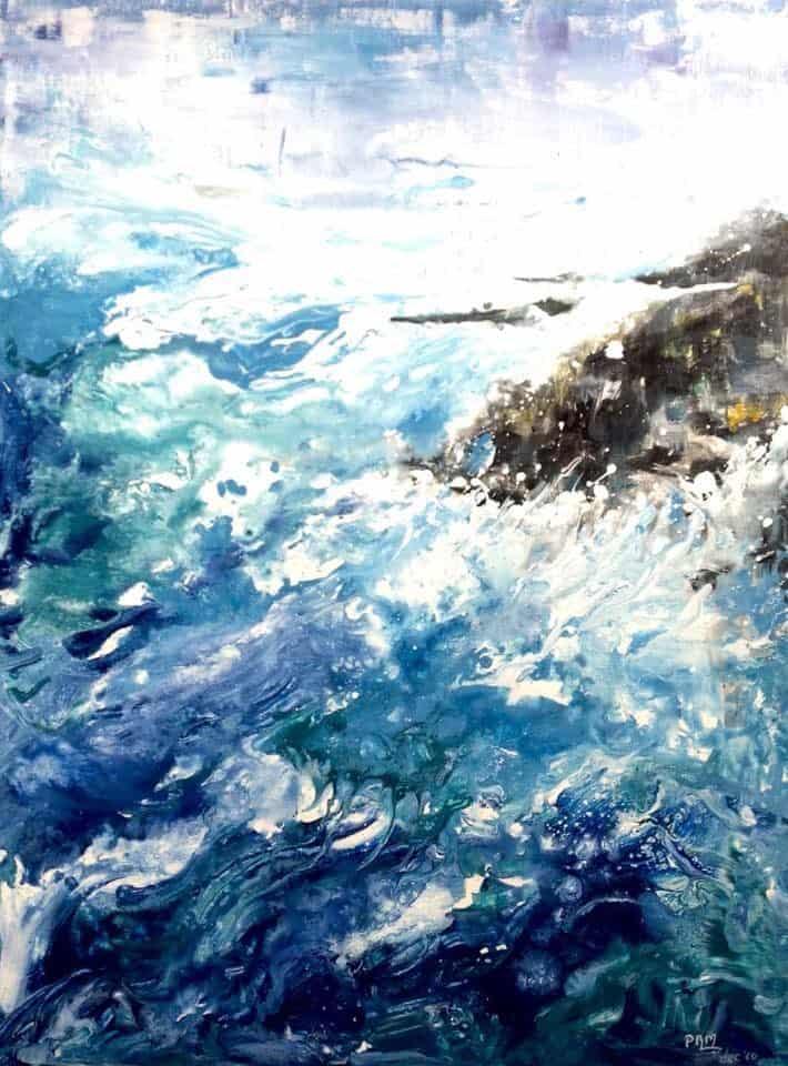 Mauritius Arts & Artists - mauritius-arts-pamela-saramandif-somewhere-i-belong