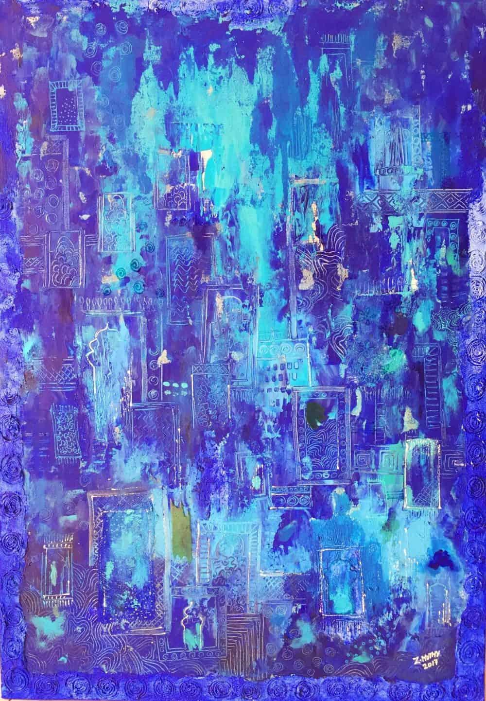 Mauritius Arts & Artists - mauritius-arts-zahiirah-mutty-magic-carpet
