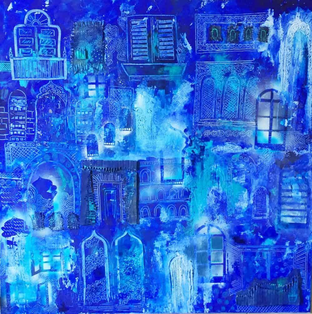 Mauritius Arts & Artists - mauritius-arts-zahiirah-mutty-the-window-of-wisdom
