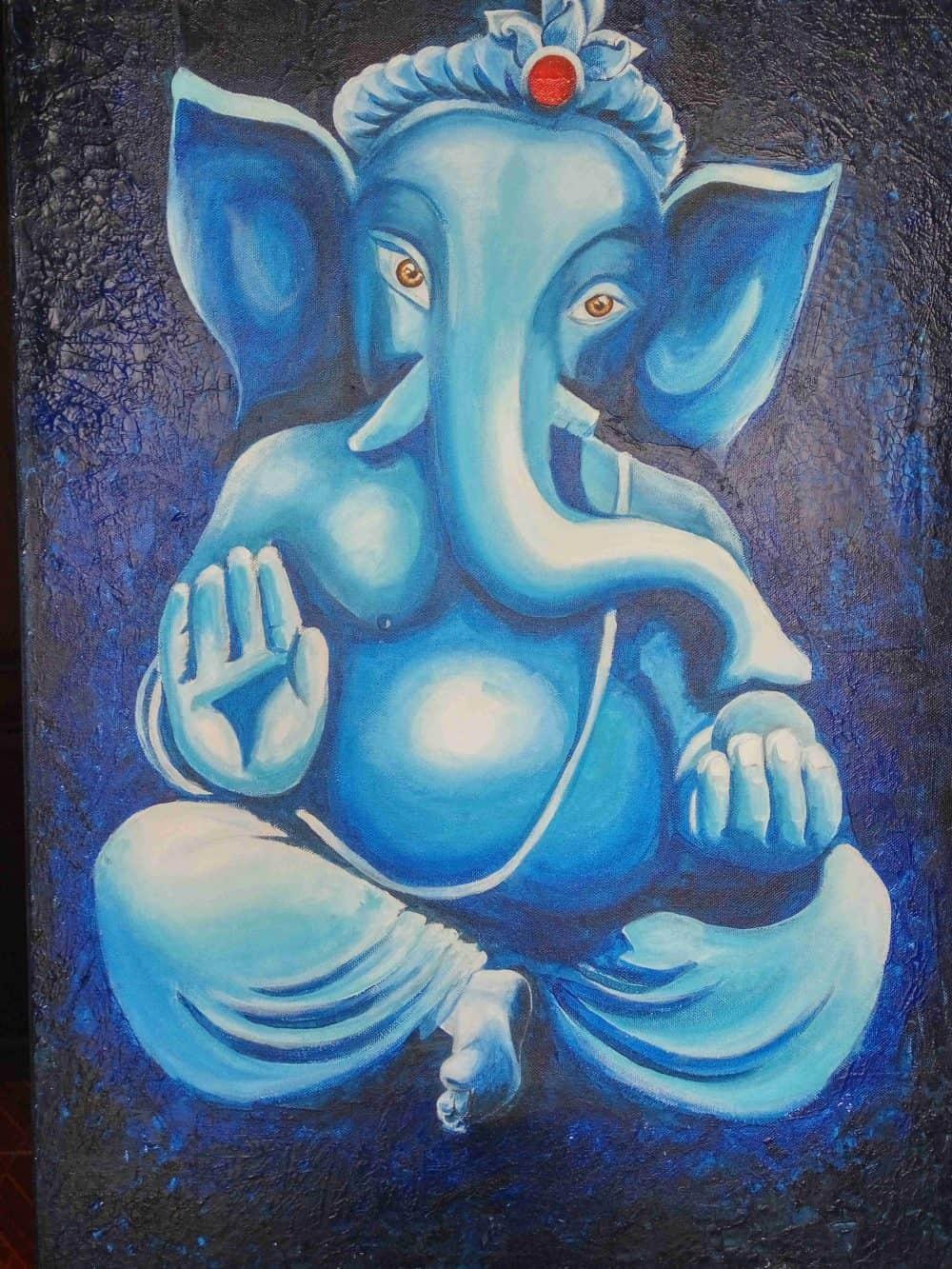Mauritius Arts & Artists - mauritius-arts-avinash-dwarku-ganesha