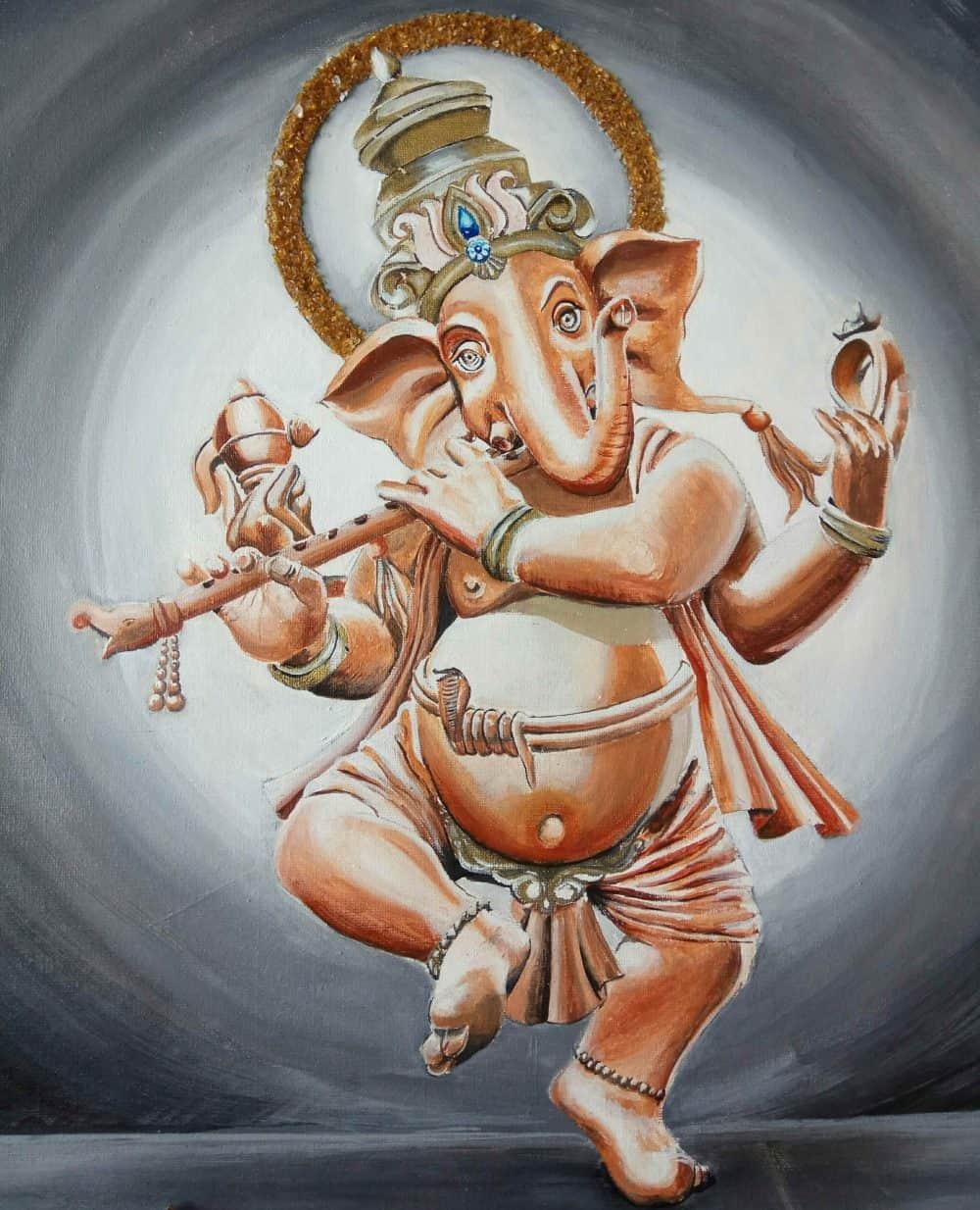 Mauritius Arts & Artists - mauritius-arts-avinash-dwarku-ganesha-3D