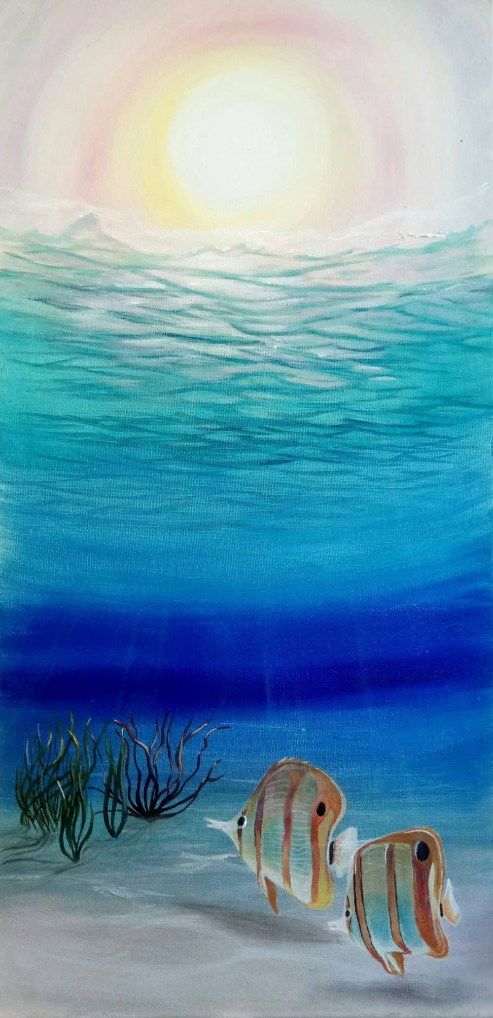 Mauritius Arts & Artists - mauritius-arts-avinash-dwarku-undersea