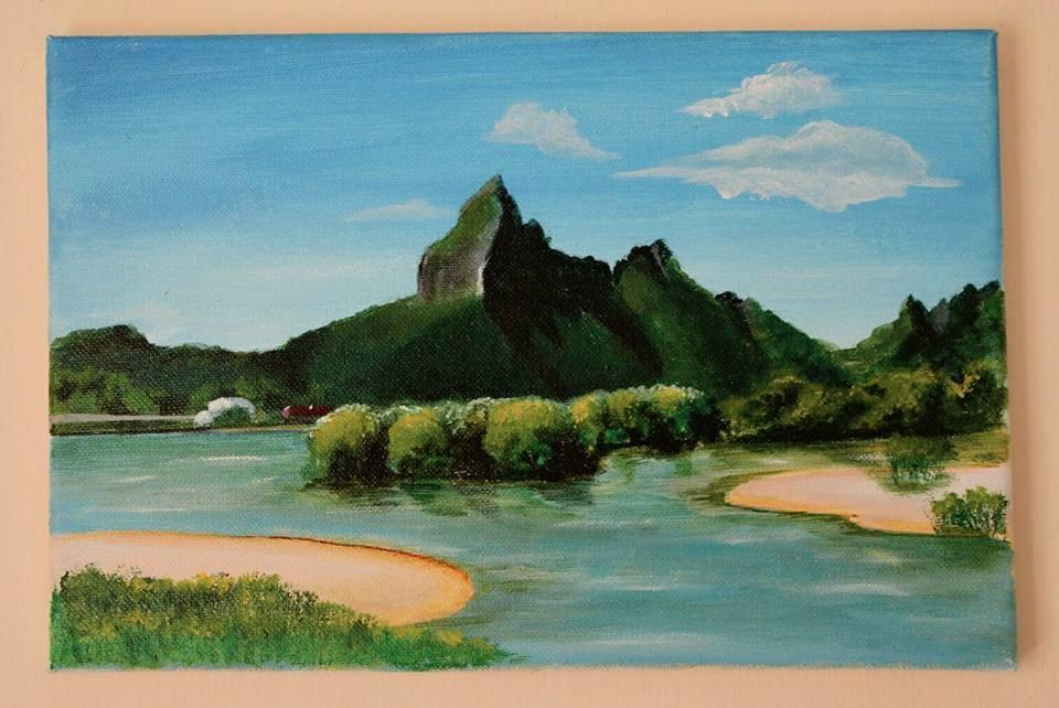 Mauritius Arts & Artists - mauritius_arts_avinash_dwarku_rempart_mountain