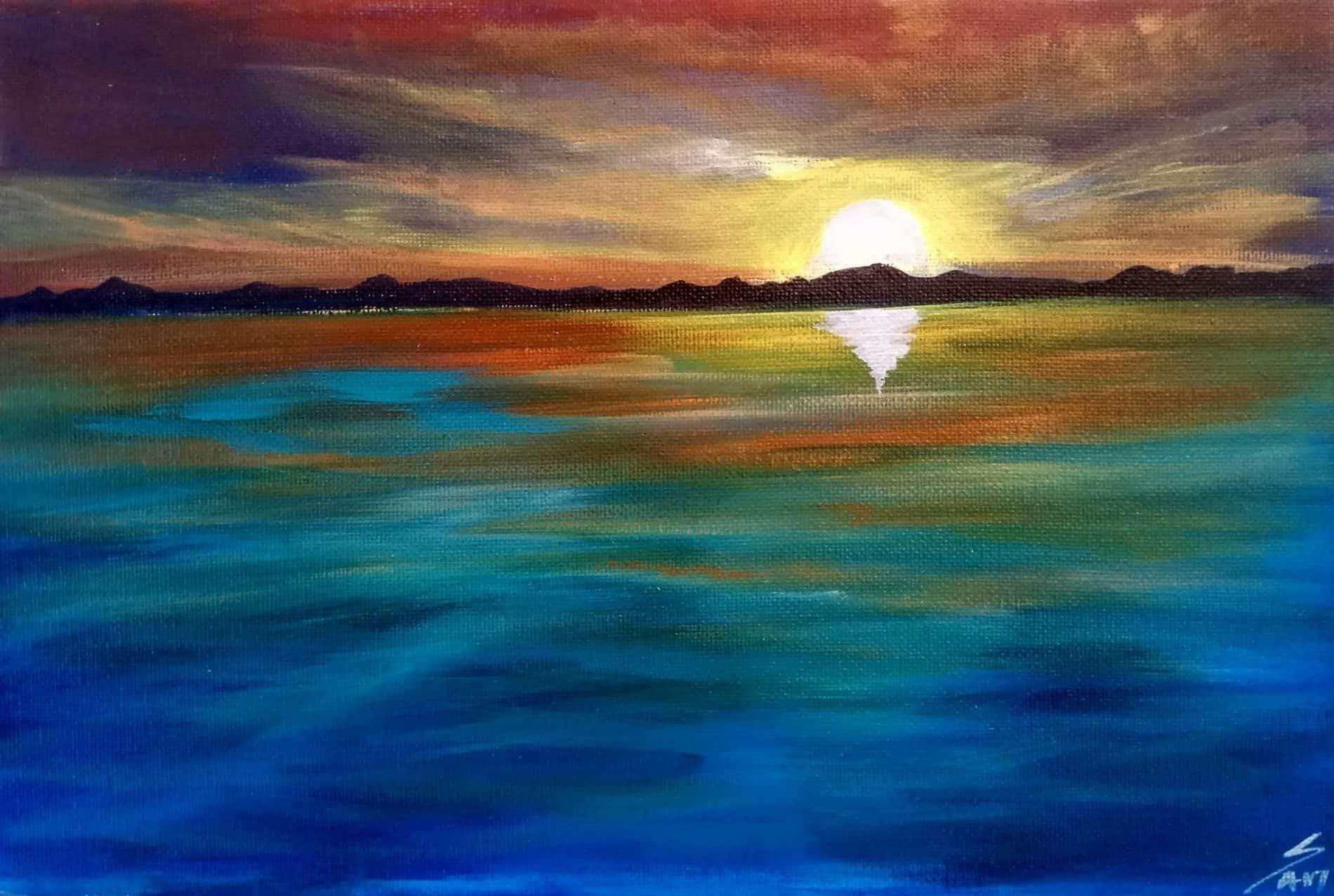 Mauritius Arts & Artists - mauritius_arts_avinash_dwarku_sunset