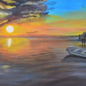 Mauritius Arts & Artists - mauritius_arts_avinash_dwarku_sunset_flic_en_flac