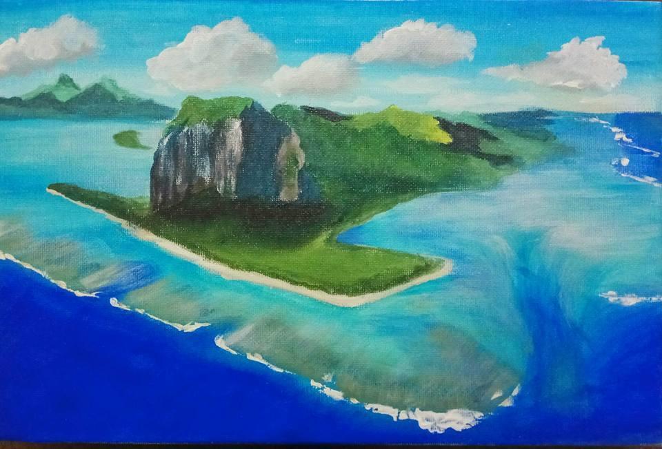 Mauritius Arts & Artists - mauritius_arts_avinash_dwarku_undersea_waterfall
