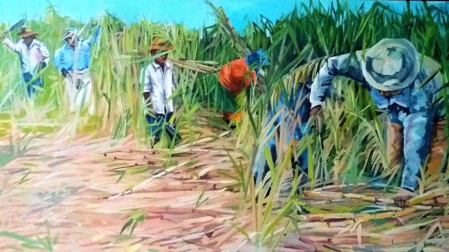 Mauritius Arts & Artists - mauritius_arts_veronique_christine_laurent_coupeur_de_cannes