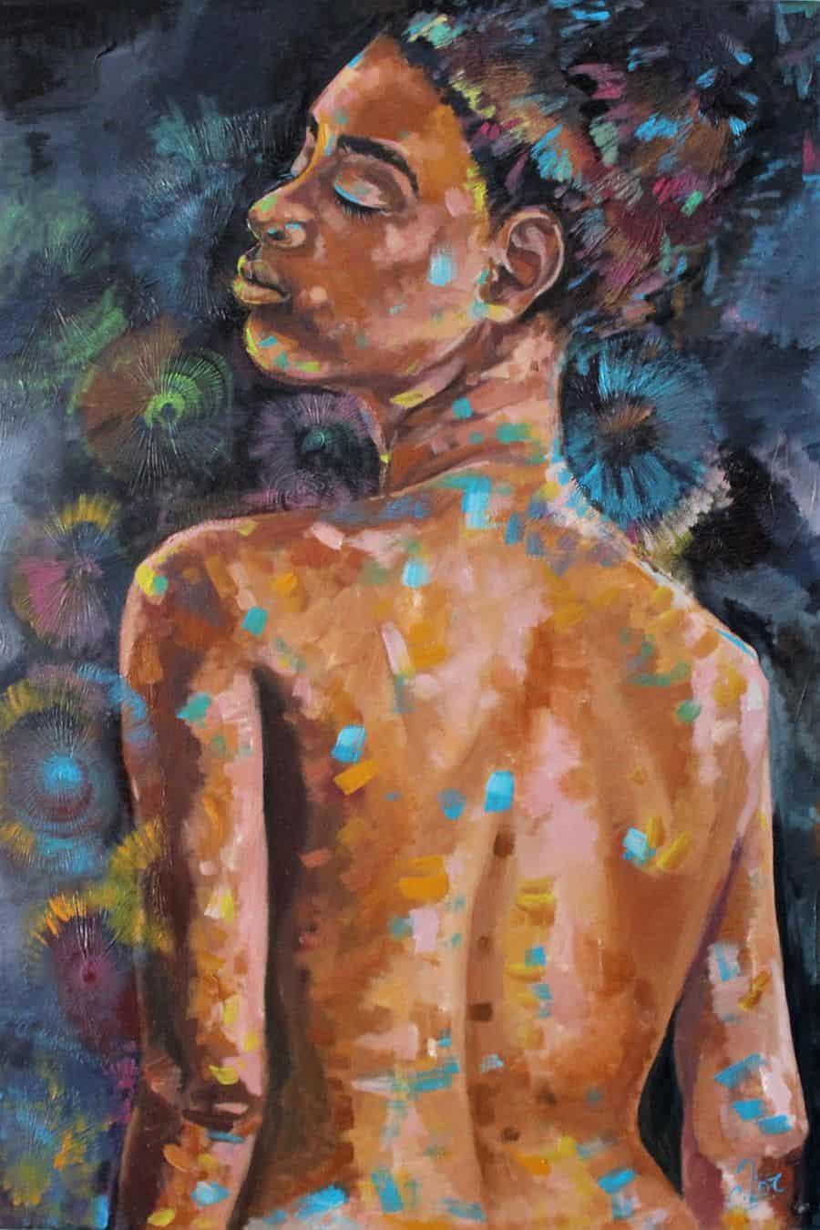 Mauritius Arts & Artists - mauritius_arts_veronique_christine_laurent_femme_illois