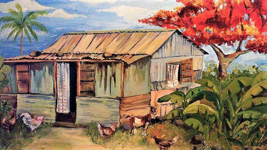 Mauritius Arts & Artists - mauritius_arts_veronique_christine_laurent_petite_maison_creole