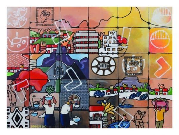 Jean-Claude-Baissac-Port-Louis-Acrylic