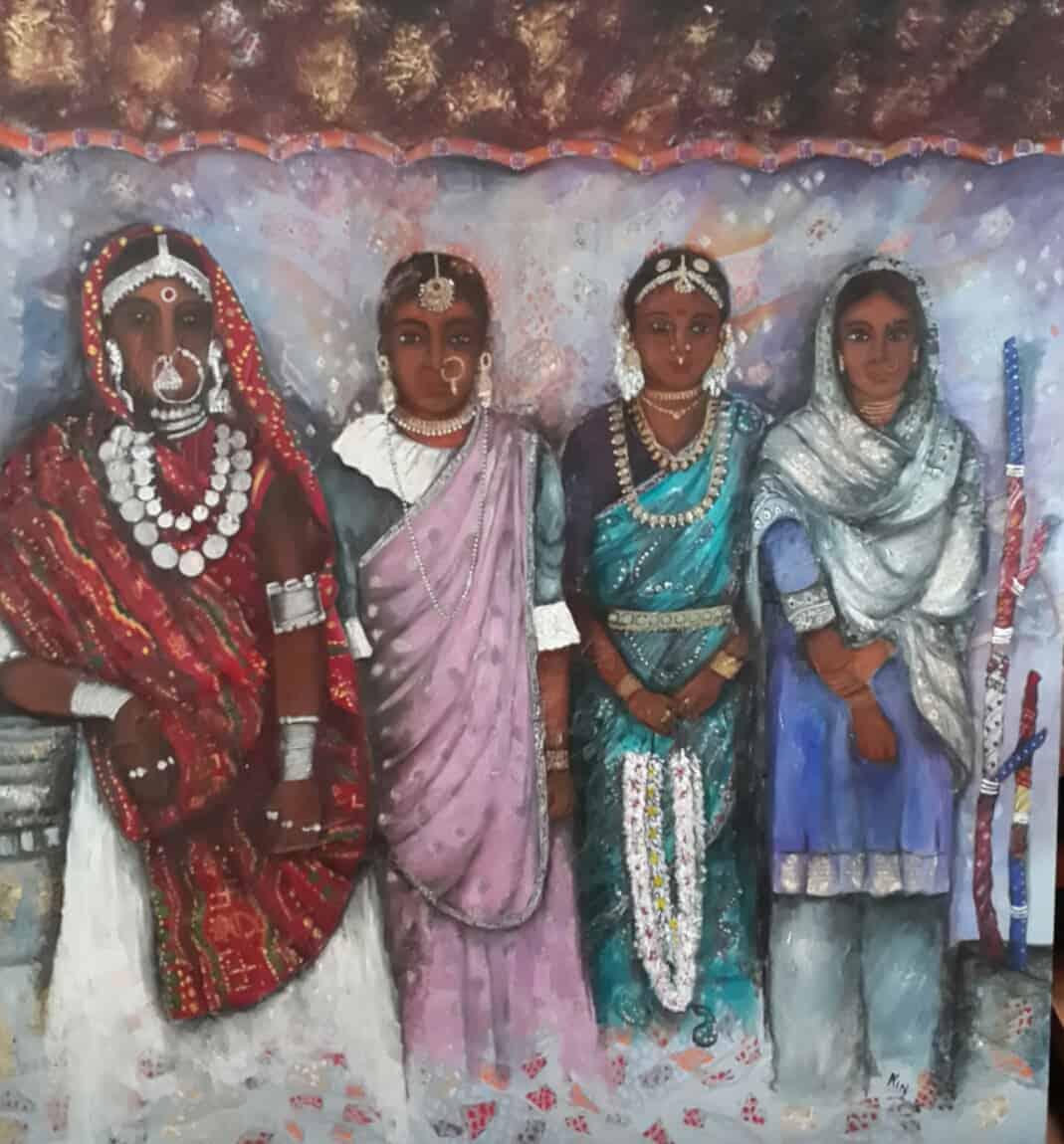mauritian-artist-nalini-treebhoobun-north-south-painting