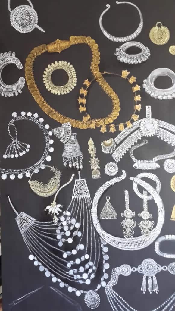 nalini-treebhoobun-beads-gold-and-silver-mixed-media