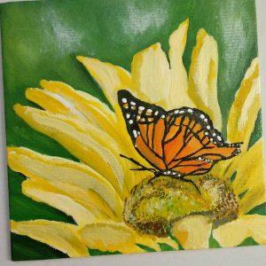 mauritian-artist-keren-dumolard-fleur-de-tournesol