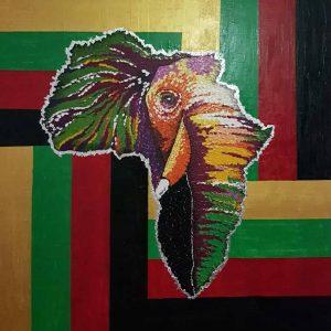 mauritius_arts_hurreeram_andhya_africa_elephant