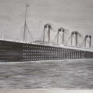 mauritiusarts_titanic_the ship of dreams_faatweemah_hossen