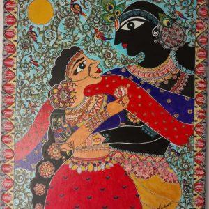 mauritian-artist-kushboo-kumari-Radha-krishna-leela