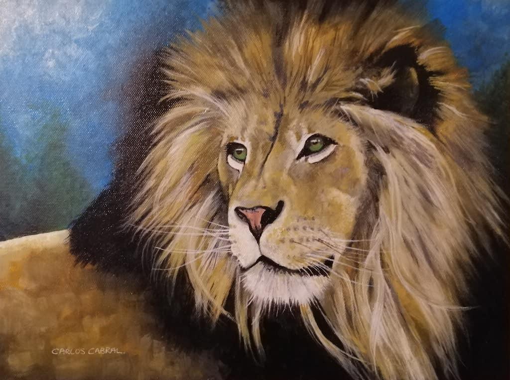 mauritius-arts-carlos-cabral-black-mane-lion