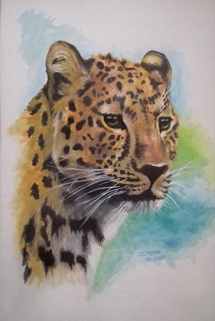mauritius-arts-carlos-cabral-leopard-expression